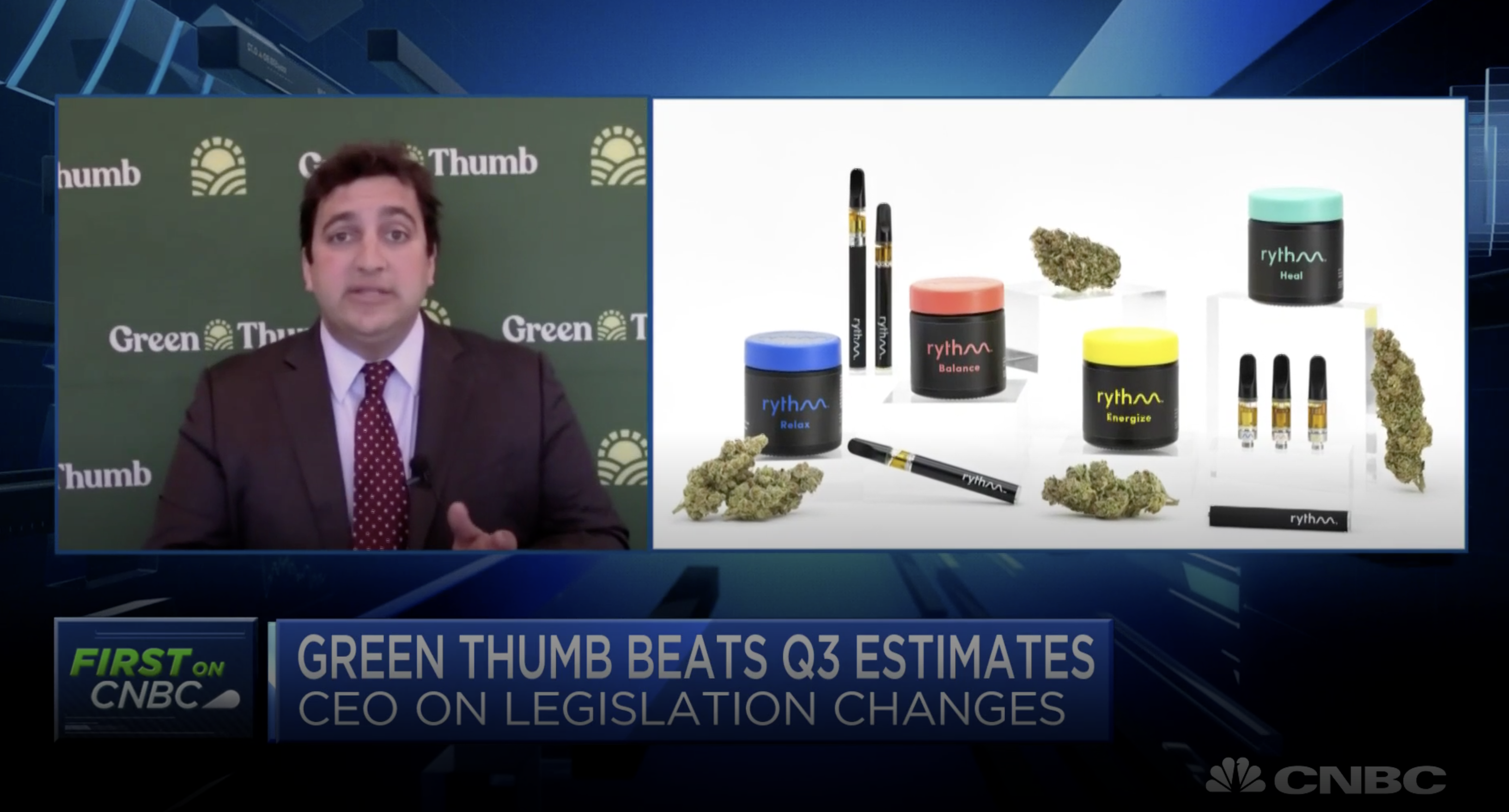 Green Thumb CEO on its Q3 estimates beat, election results