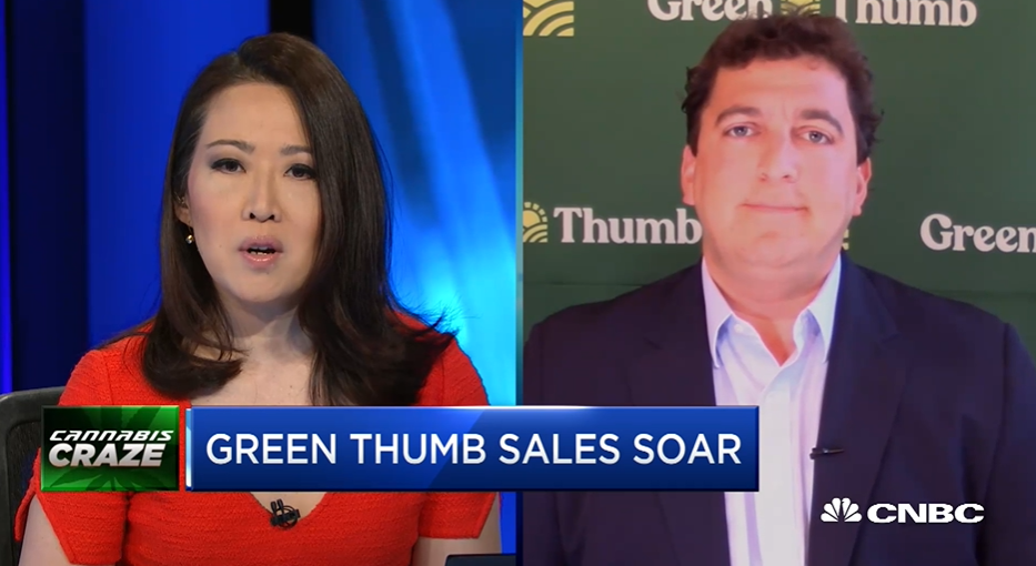 Cannabis craze: Green Thumb posts 167% increase in revenue from last year